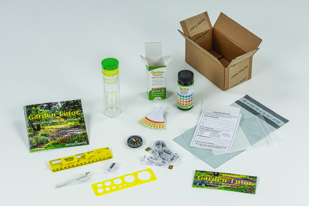 Garden Tutor Kit Components
