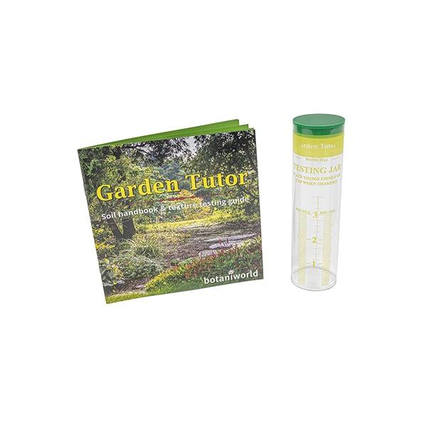 Soil Texture Testing Jar & Handbook Kit