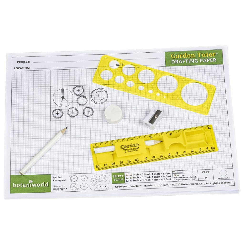 Garden Design Kit (Drafting Tools and Graph Paper ...
