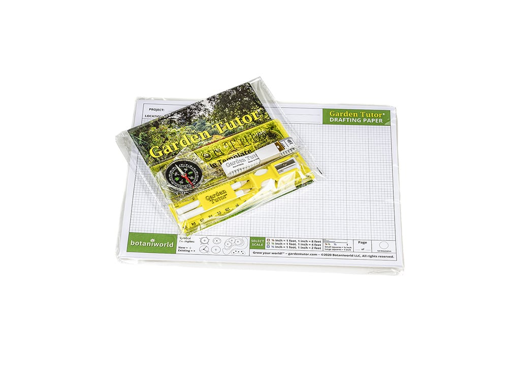 Garden Design Kit (Drafting Tools and Graph Paper)